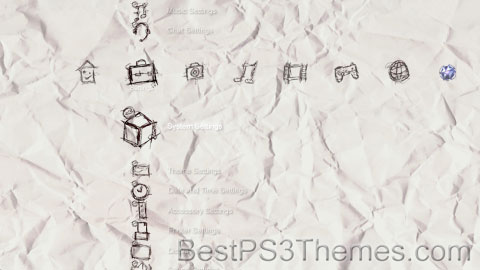 Hand Drawn Pen & Paper Theme