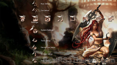 Heavenly Sword Theme 5