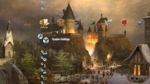 Hogwarts Magic Theme