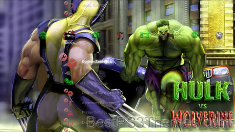 Hulk Vs. Wolverine 2.0 Theme