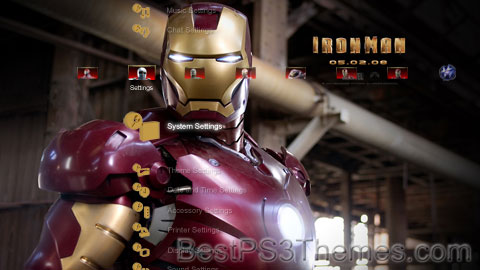 Iron Man Theme 3