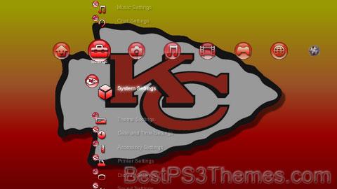 Kansas City Chiefs V2 Theme