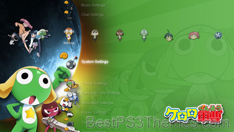 Keroro Gunso Theme