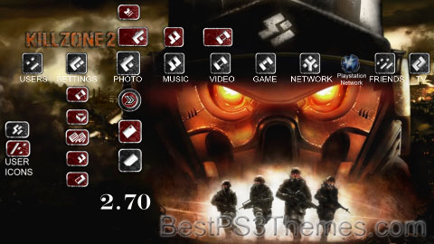 KILLZONE 2 ELITE V3 Theme Preview