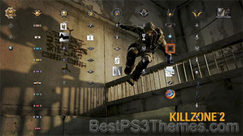 Killzone 2 Trophy Icons Theme