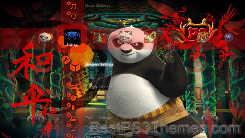 Kung Fu Panda Theme 3