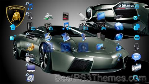 Lamborghini Reventon Theme