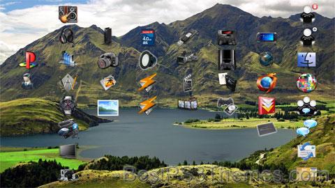 Landscapes HD Theme Preview