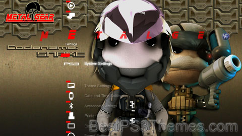 LittleBigPlanet MGS Pack Theme