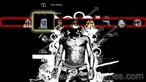 Lil Wayne Theme (3 backgrounds)