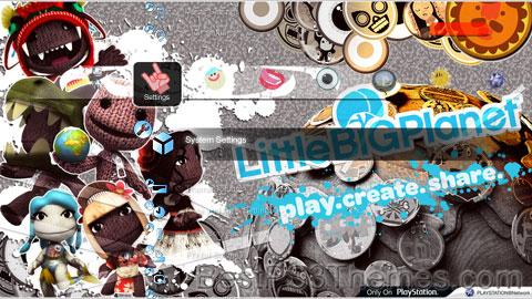 Little Big PS3 Theme
