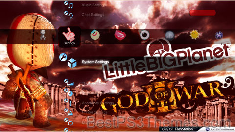 Little Big PS3 Ver. 2.0 Theme