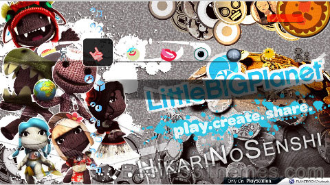 Litte Big PS3 Ver. 2.0 Theme
