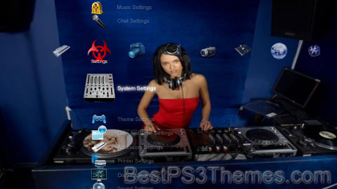DJ Mari Ferrari Theme Preview