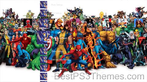Marvel Theme 3