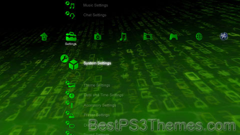 Matrix Code 2 Theme