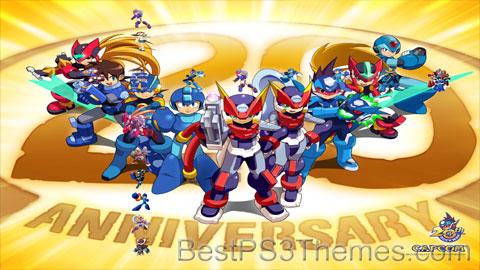 Mega Man 20th Anniversary Theme