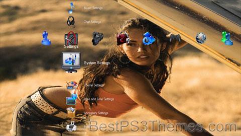 Megan Fox v1.1 Theme