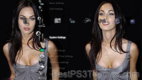 Megan Fox Theme 2