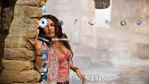 Megan Fox Theme Preview