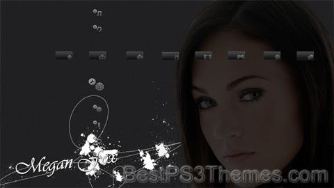 Megan Fox HD Only Theme