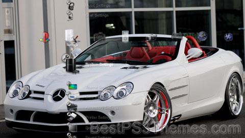 Mercedes McLaren SLR Roadster Brabus Theme