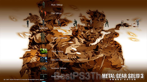 Metal Gear Solid 3 versionD Theme