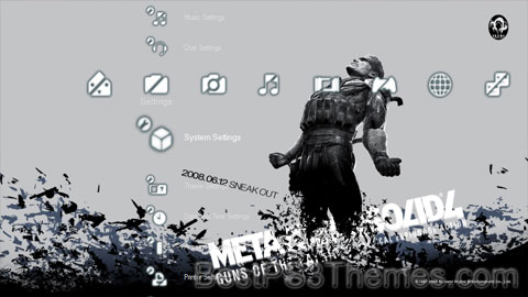 Metal Gear Solid 4 Theme 10