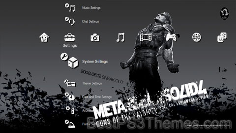 Metal Gear Solid 4 Theme 11