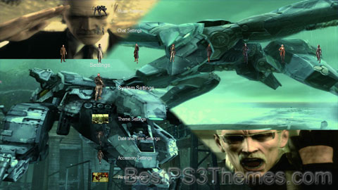 Metal Gear Solid 4 Theme 4