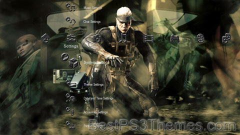 Metal Gear Solid 4 Theme 8