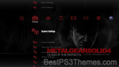 MGS4 Depth Theme