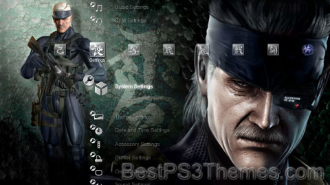 MGS4 Japanese + Sound V.3 Theme