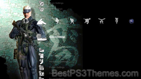 MGS4 - Snake And Raiden Theme
