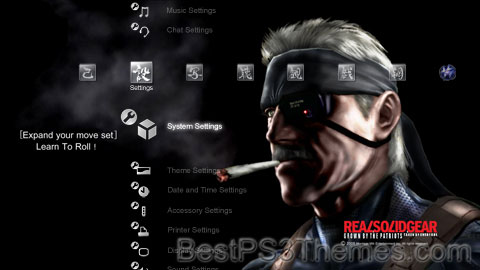 MGS4 Solid Gear Theme