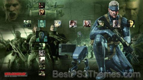 Metal Gear Solid IV v1.0 Theme
