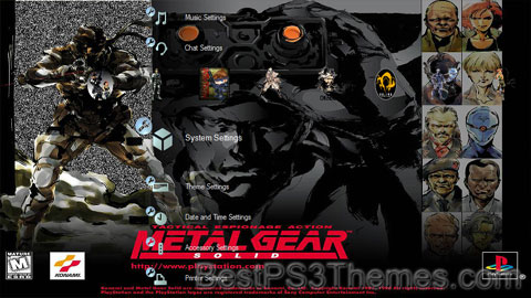 Metal Gear Solid Theme 3 Updated