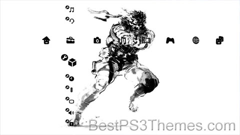 Metal Gear Solid Black & White versionD Theme