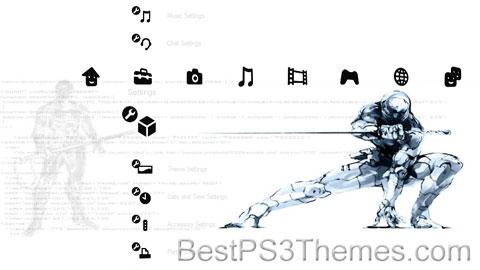 Metal Gear Solid Noir versionD Theme