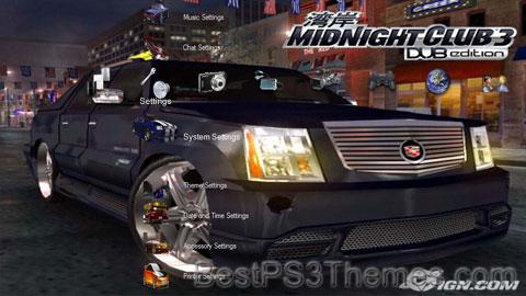Midnight Club 3: DUB Edition V2 Theme