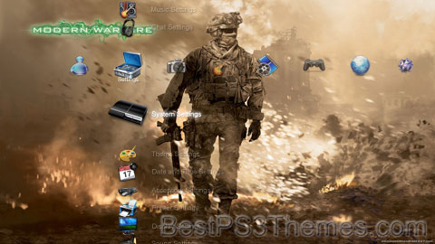 Modern Warfare 2 Theme Preview