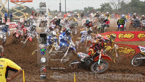 Motocross Collection Theme