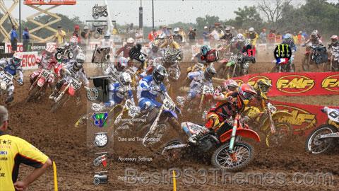 Motocross Collection Theme
