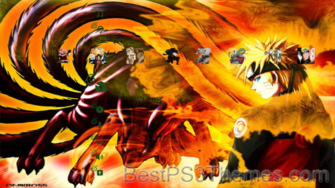 Naruto Shippuuden Theme (3 backgrounds). Share and Enjoy: