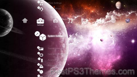 Nebula Space Theme