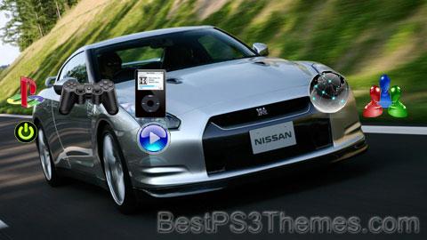 Nissan GTR Theme