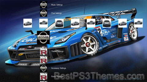 Nissan GTR R35 Theme