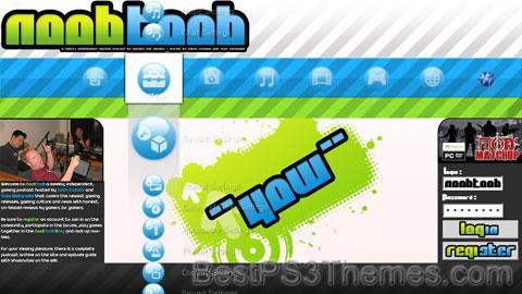 NoobToob 2.1 Theme