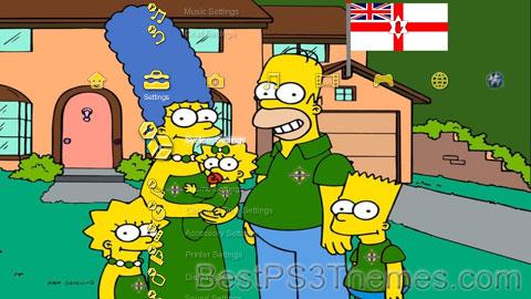 Norn Iron Simpsons Theme