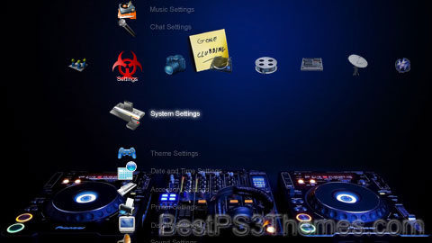 Only For DJs Theme Preview